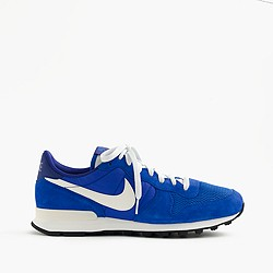 Nike® Internationalist mesh and suede sneakers in royal