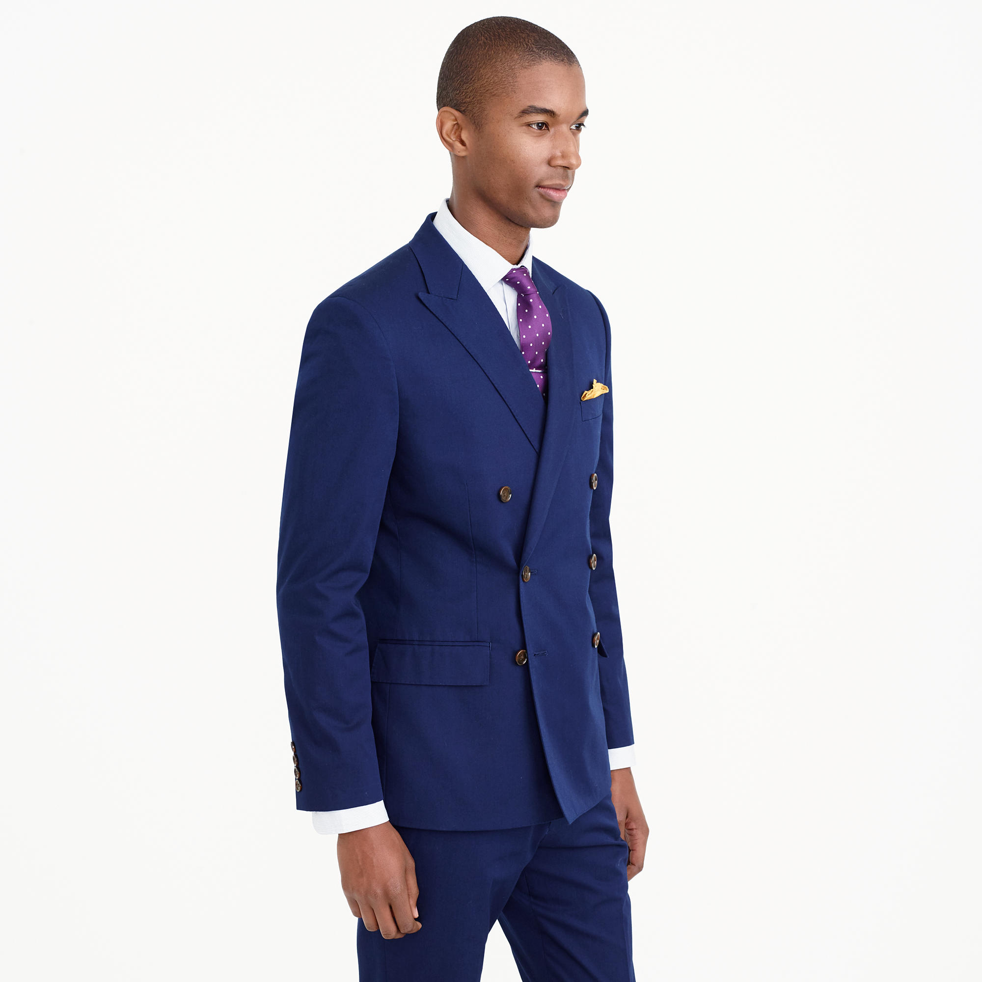 Ludlow Double-Breasted Suit Jacket In Italian Chino : Men's ...