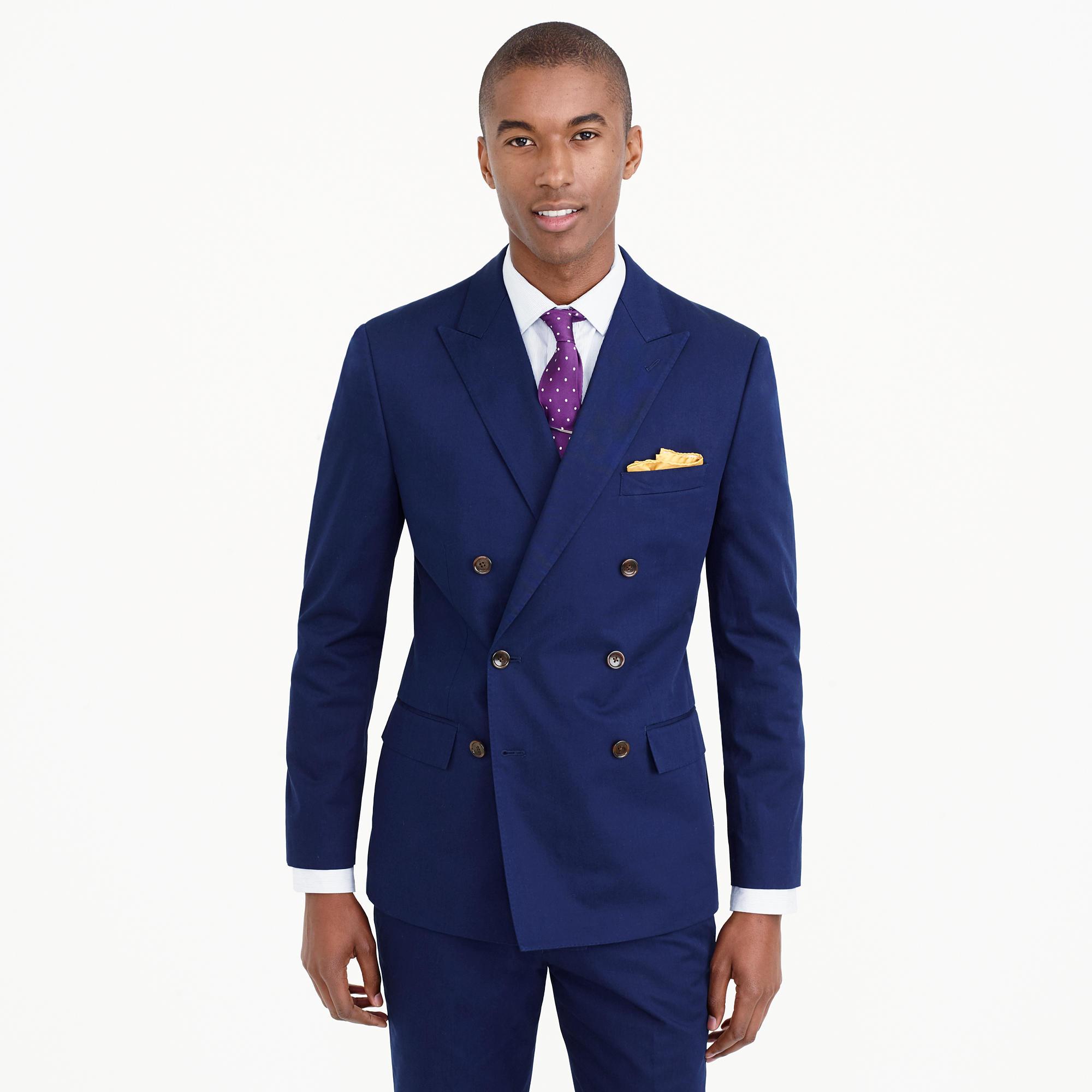 Ludlow Double-Breasted Suit Jacket In Italian Wool : Men's Blazers ...
