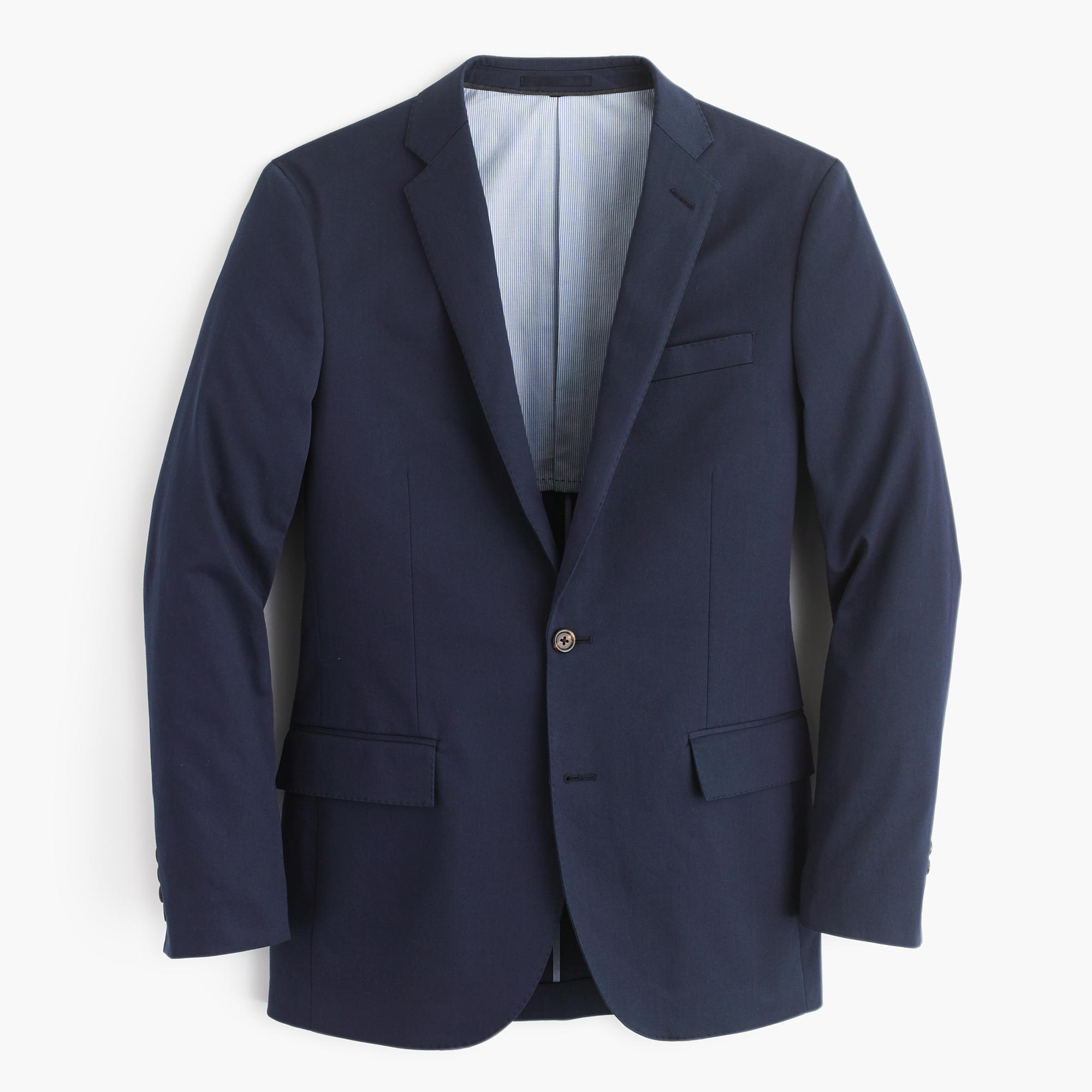 Ludlow suit jacket in navy Italian stretch chino : Men suits ...