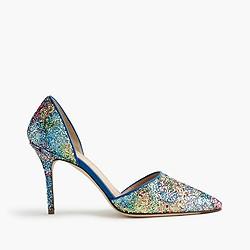 Elsie glitter d'Orsay pumps