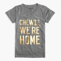 "Star Wars™ for J.Crew women's ""Chewie, we're home"" T-shirt"