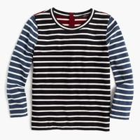 Mixed-stripe T-shirt
