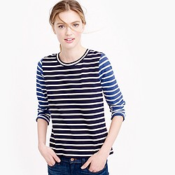 Mixed-stripe T-shirt