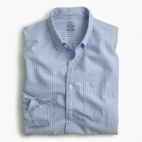 Slim lightweight oxford shirt in stripe