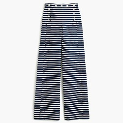 Sailor pant in stripe