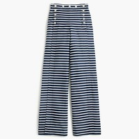 Striped sailor pant