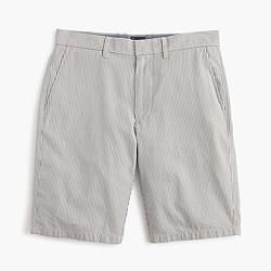 """10.5"""" club short in grey stripe"""