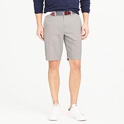 """10.5"""" short in grey stripe"""