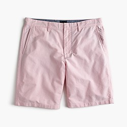 "9"" short in pink oxford cloth"