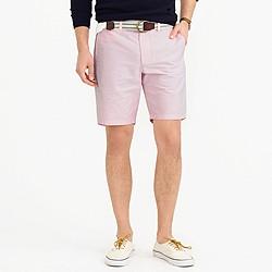"9"" club short in pink oxford cloth"