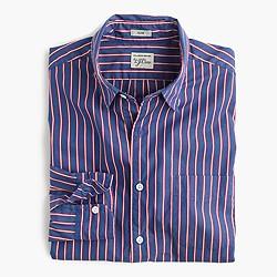 Slim Secret Wash shirt in classic blue stripe