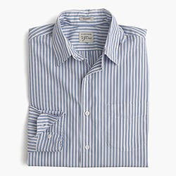 Secret Wash shirt in blue stripe