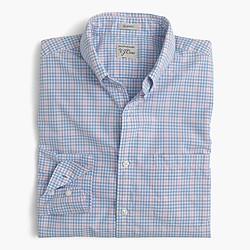 Secret Wash shirt in pink check