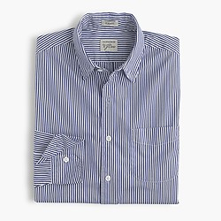 Secret Wash shirt in heritage blue stripe