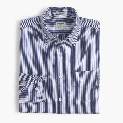 Secret Wash shirt in heritage blue stripe