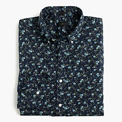 Slim Secret Wash shirt in floral