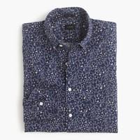 Slim Secret Wash shirt in daisy print