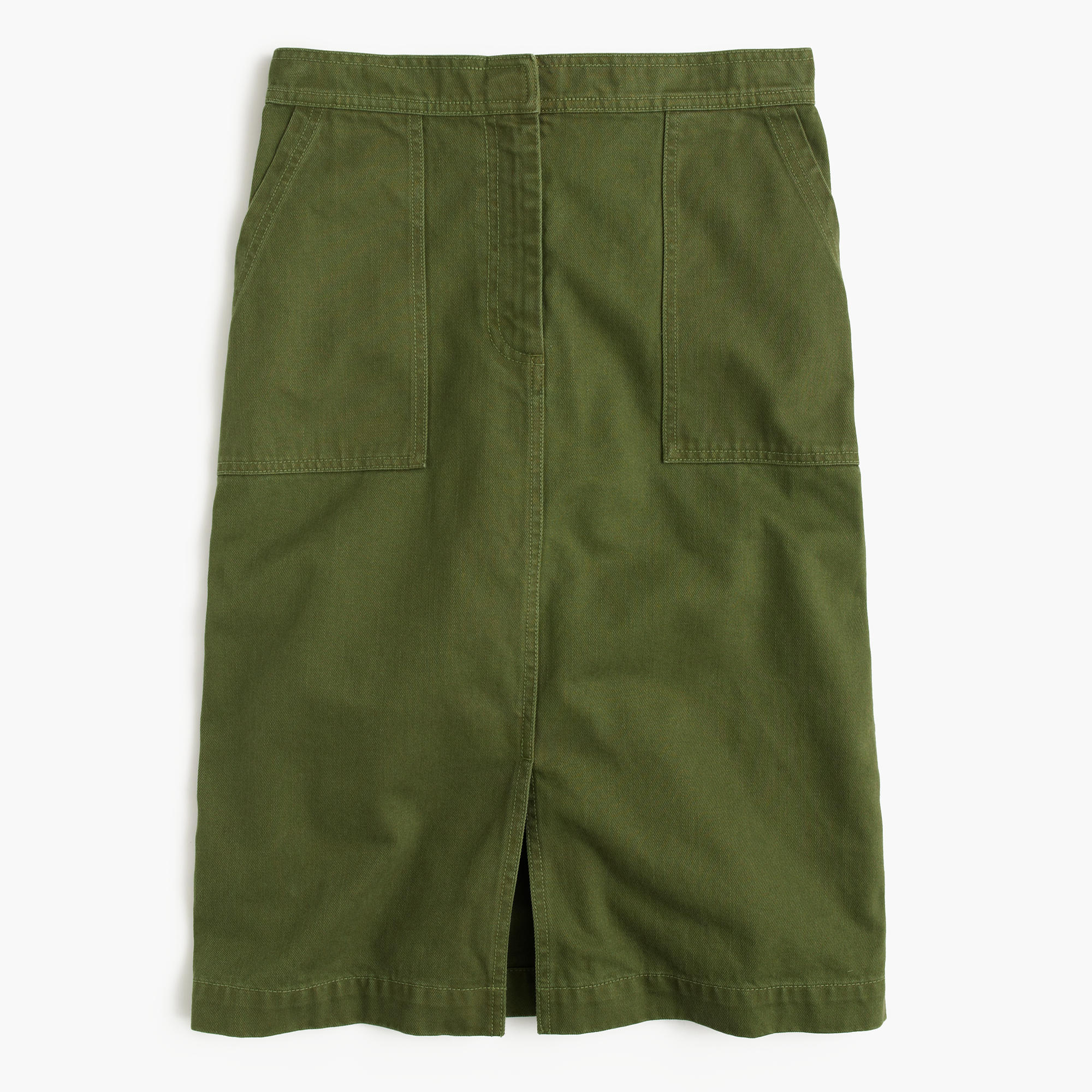 a line skirt with pockets j crew