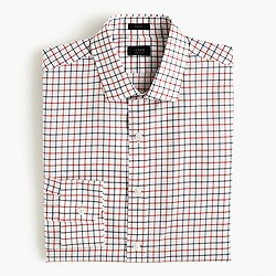 Crosby shirt in red tattersall