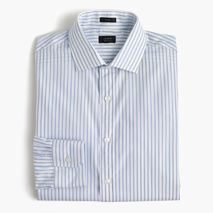 Crosby shirt in fresh pond stripe