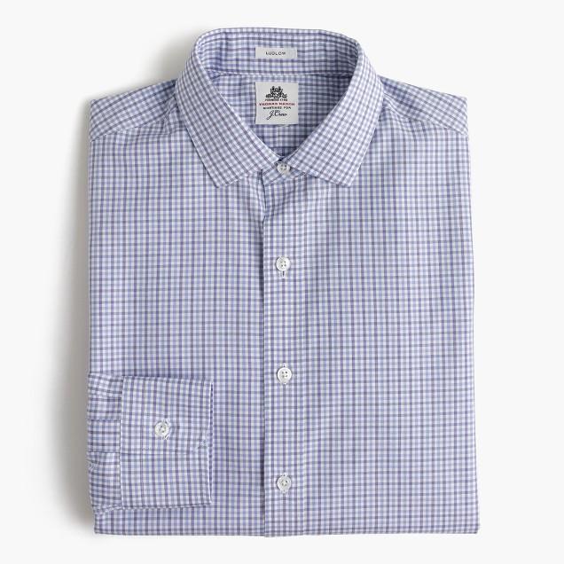 Thomas Mason For J Crew Ludlow Shirt In End On End Cotton