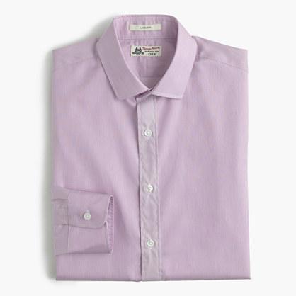 Thomas Mason® for J.Crew Ludlow shirt in microstripe