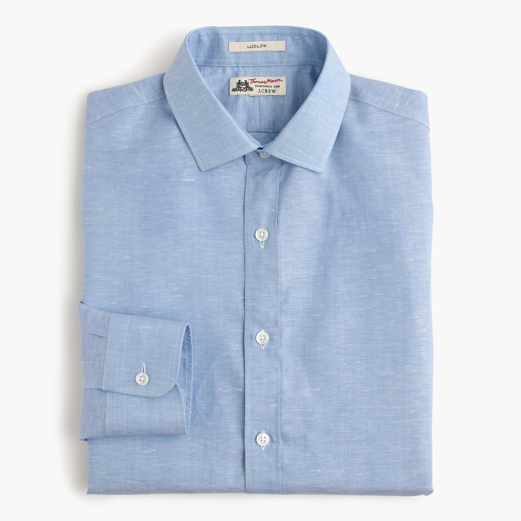 Thomas mason for j crew ludlow shirt in italian cotton for Mason s men s shirts