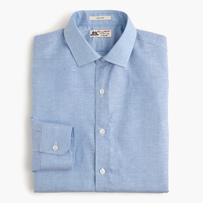 Thomas Mason® for J.Crew Ludlow shirt in Italian cotton-linen
