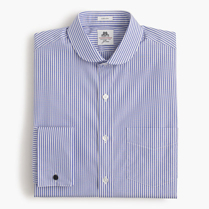 Thomas Mason® for J.Crew cutaway-collar Ludlow shirt in bengal stripe