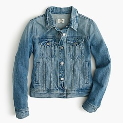 Denim jacket in Holston wash