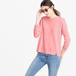 Lightweight wool tunic sweater