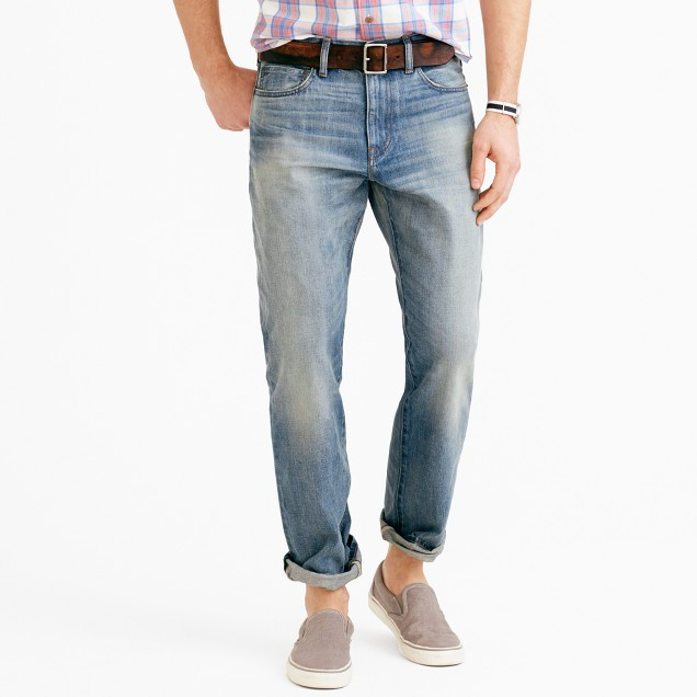 1040 athletic jean in Guilford wash