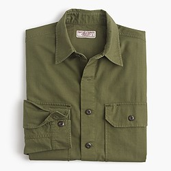 Wallace & Barnes military field shirt