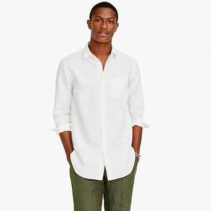 Irish cotton-linen long shirt