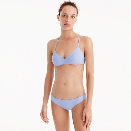 French cross-back bikini top