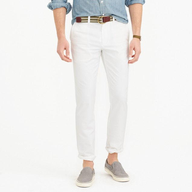 Oxford cloth chino pant in 770 straight fit