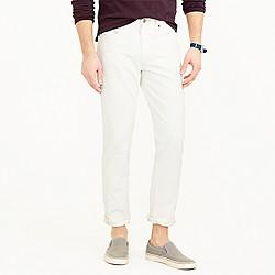 770 jean in rinsed white