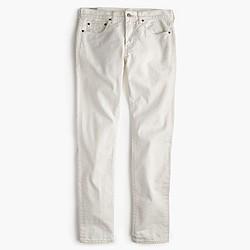 484 jean in rinsed white