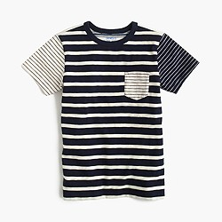 Boys' mash-up pocket T-shirt