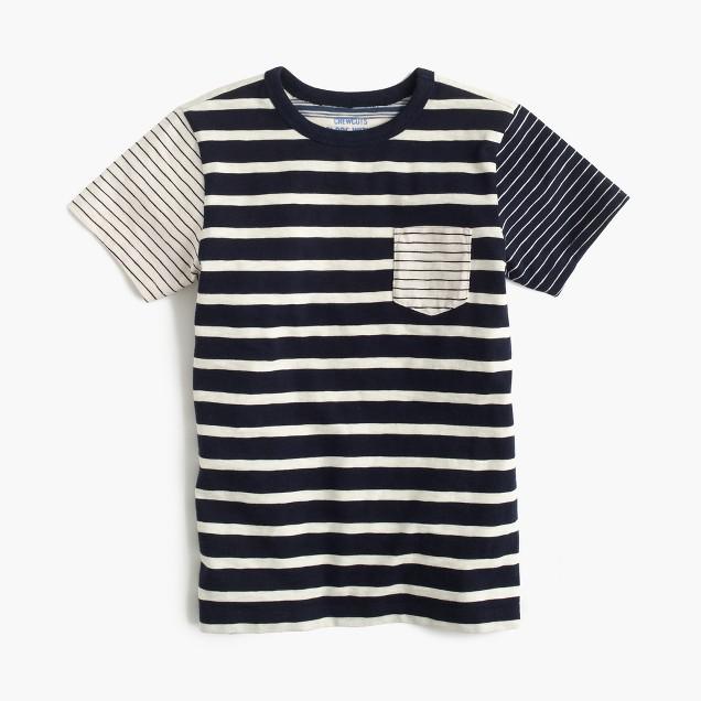 Boys' mash-up pocket T-shirt