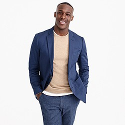 Crosby blazer in Italian cotton
