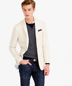Ludlow blazer in French linen