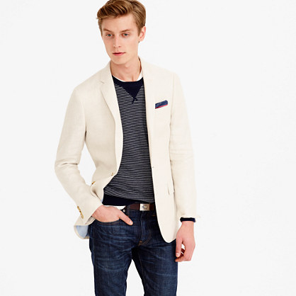 Ludlow blazer in French linen