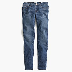 Toothpick jean in Lancaster wash
