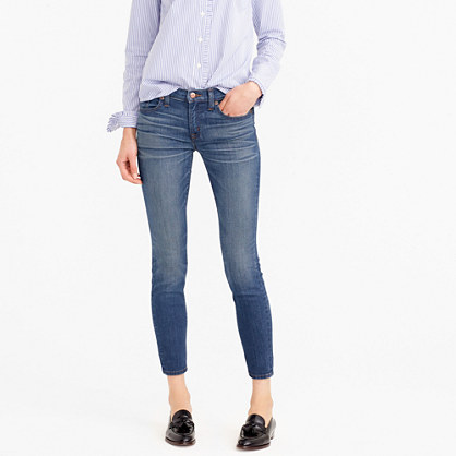 Petite toothpick jean in Lancaster wash
