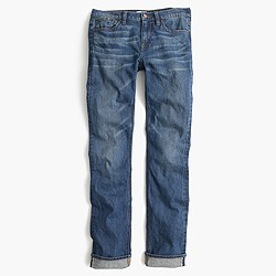 Matchstick jean in Japanese selvedge Fayette wash