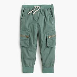 Girls' pull-on cargo pant