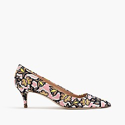 Dulci kitten heels in floral burst