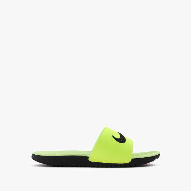 Kids' Nike® Kawa slide sandals